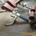 BRONZE GYM H-026A Гиперэкстензия
