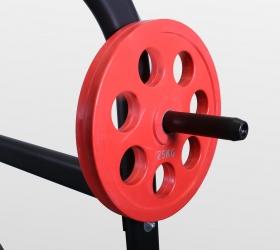 BRONZE GYM BR-1015 Рама для приседов - Гриф для дисков