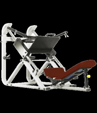 BRONZE GYM J-022 Жим ногами под углом 45 градусов